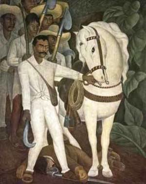 Agrarian Leader Zapata