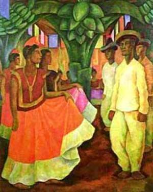 Dance In Tehuantepec 1928