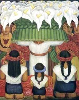 Diego Rivera - Feast Of Santa Anita 1931