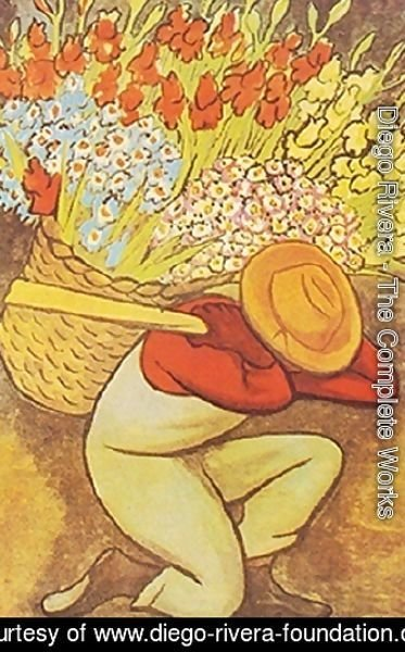 Diego Rivera The Complete Works El Vendedor De Flores