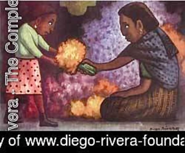 Diego Rivera - Mothers Helper