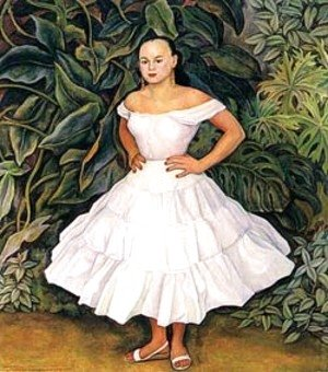 Diego Rivera - Retrato Do Irene Phillips Olmedo 1955