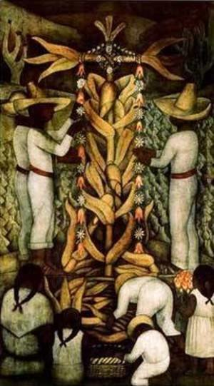 Diego Rivera - The Corn Festival