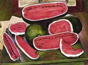 Diego Rivera - The Watermelons 1957