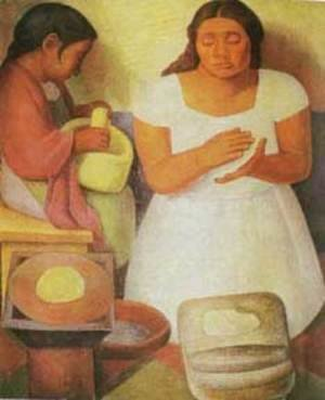 Diego Rivera - Tortilla-Maker