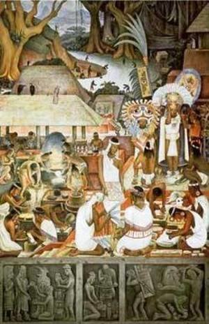Diego Rivera - The Zapotec Civilization