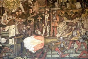 Mural from the series Epic of the Mexican People  1925-35