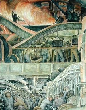 Diego Rivera - Detroit Industry-5,  1933