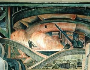 Diego Rivera - Detroit Industry-8,  1933