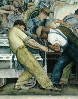 Diego Rivera - Detroit Industry-9,  1933