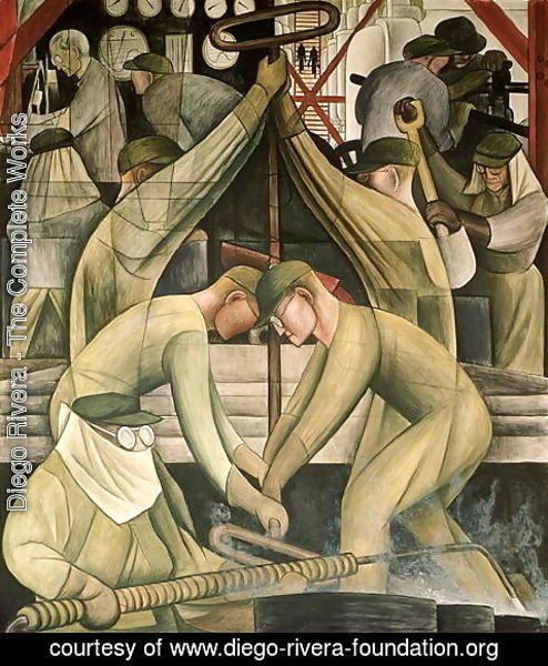 Diego Rivera - Detroit Industry-11,  1932-33