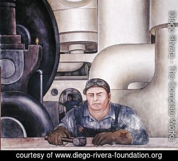 Diego Rivera - Detroit Industry-19,  1932-33
