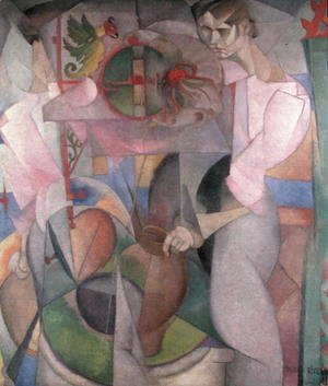 Diego Rivera - Woman at a Well 1913