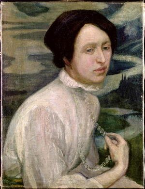 Diego Rivera - Portrait of Angelina Beloff  1909