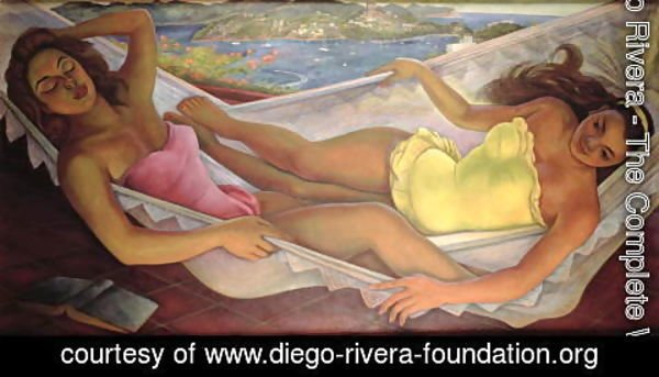 Diego Rivera - The Hammock, 1956