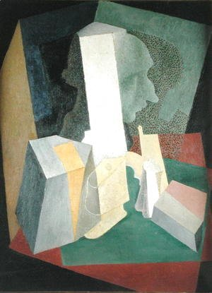 Diego Rivera - Composition with Bust  1916