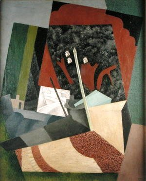 Diego Rivera - The Telegraph Pole  1916