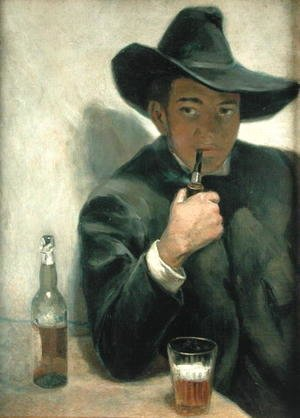 Diego Rivera - Self Portrait, 1916
