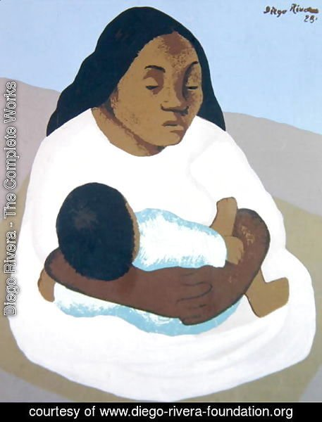 Diego Rivera - Motherhood  1928