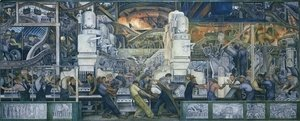 Diego Rivera - Detroit Industry  1932-33
