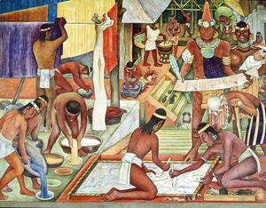 Diego Rivera - The Tarascan Civilisation, 1942
