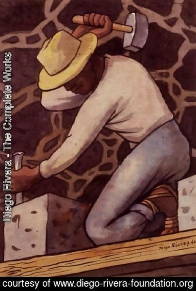 Diego Rivera - The Complete Works - The Stone Cutter - diego