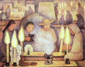 Diego Rivera - The Day of the Dead, 1944