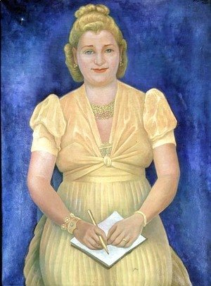 Diego Rivera - Portrait of Miss Betty Ross (d.1964) 1943