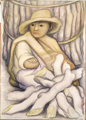 Diego Rivera - The Peasant, 1934