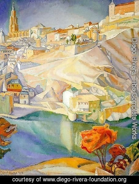 Diego Rivera - View of Toledo