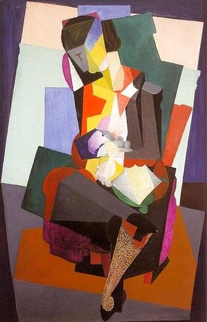 Diego Rivera - Motherhood
