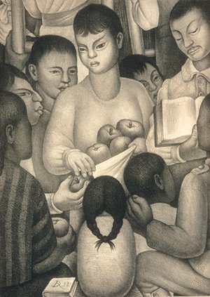 Diego Rivera - Fruits of Labor