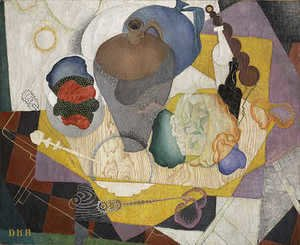 Diego Rivera - Nature Morte Espagnole