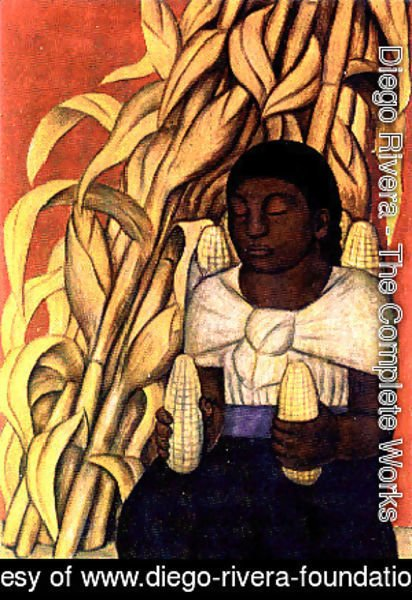 Diego Rivera - Corn