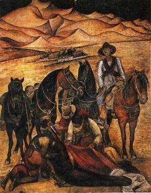 Diego Rivera - Liberation of the Peon 1923
