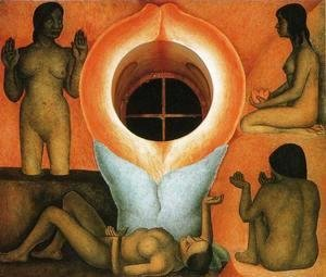 Diego Rivera - Maturation (Maduracion) 1926 to 27