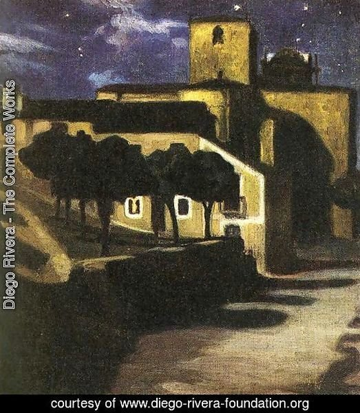 Night Scene in Avila 1907