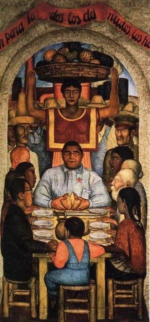 Diego Rivera - Our Bread 1928