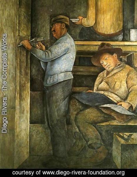 Diego Rivera - Political Vision of the Mexican People The Painter the Sculptor and the Architect 1923 to 1928