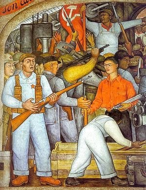 Diego Rivera - The Arsenal