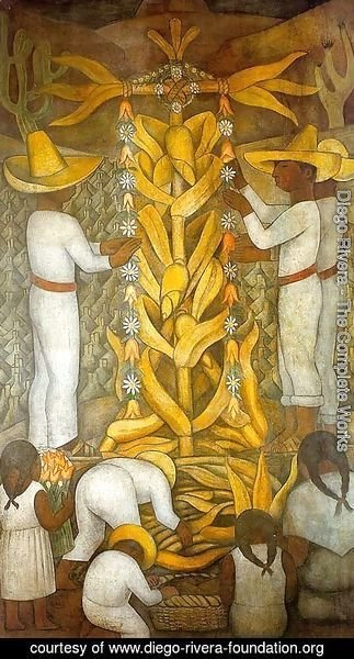 Diego Rivera - THe Corn Festival 2