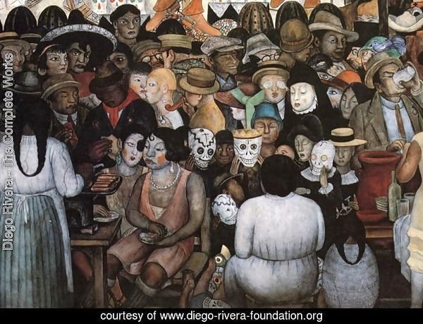 The Day of the Dead (Bottom Detail) 1924