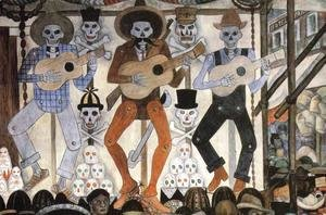 Diego Rivera - The Day of the Dead (Detail) 1924