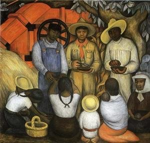 Diego Rivera - Triumph of the Revolution 1926